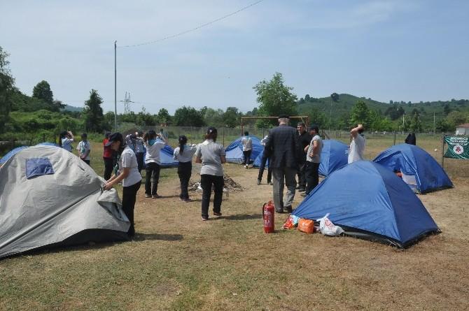 Akçakoca'nın İzcileri Çayağzı Kampında