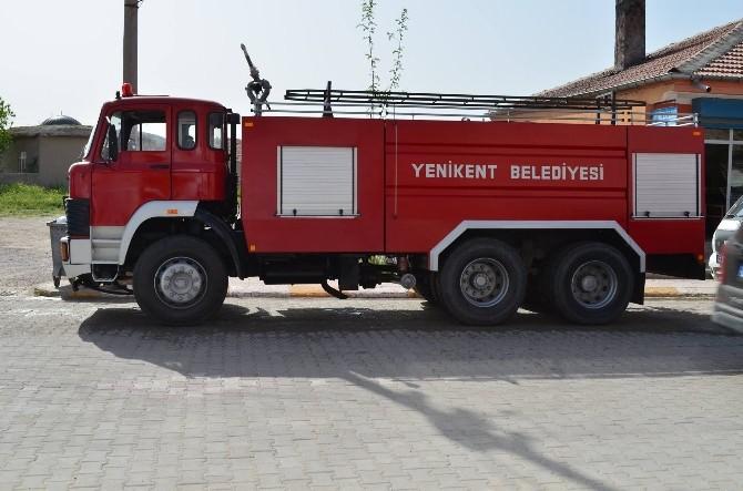 Yenikent'e Yeni İtfaiye Aracı