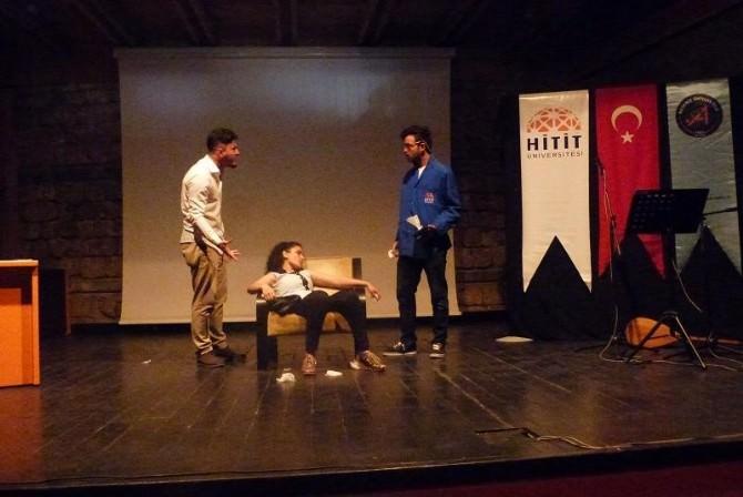 Sungurlu MYO Akdeniz Gençlik Şenliğine Katıldı