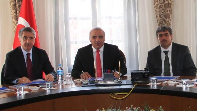 Cazibe Merkezi İller Arasında Yer Alan Elazığ'da İlk Toplantı Yapıldı