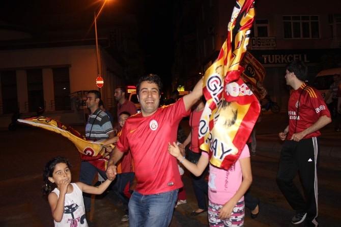 Aydın'da Galatasaraylıların Şampiyonluk Coşkusu