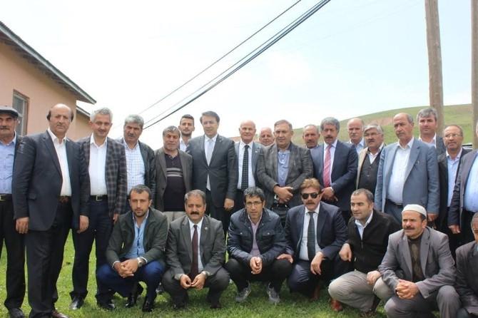 """Fırat, Horasan'da Konuştu: """"AK Partiye Karşı Birleştiler"""""""