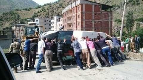 Şemdinli'de Trafik Kazası
