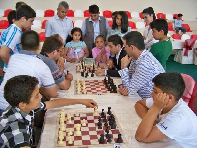 Hassa'da Satranç Turnuvası Düzenlendi