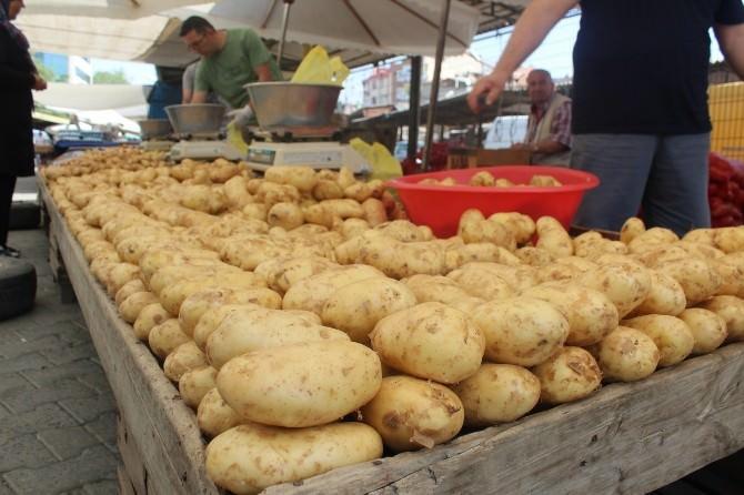 Patates Fiyatları Vatandaşı Sevindirdi