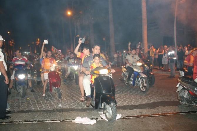 Marmaris'te Galatasaray Coşkusu