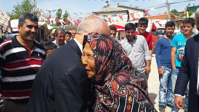 MHP Adayı Gönen, Bozkır'da Hemşehrileri İle Buluştu