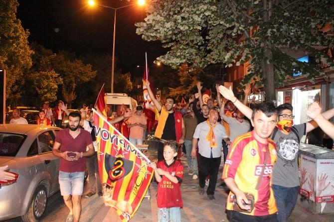 Galatasaray'ın Şampiyonluğu Edirne'de Coşkuyla Kutlandı