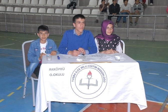 Tuşba'da Ortaokullar Arası Bilgi Yarışması