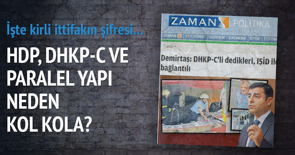 HDP, DHKP-C ve Paralelin kiri işbirliği