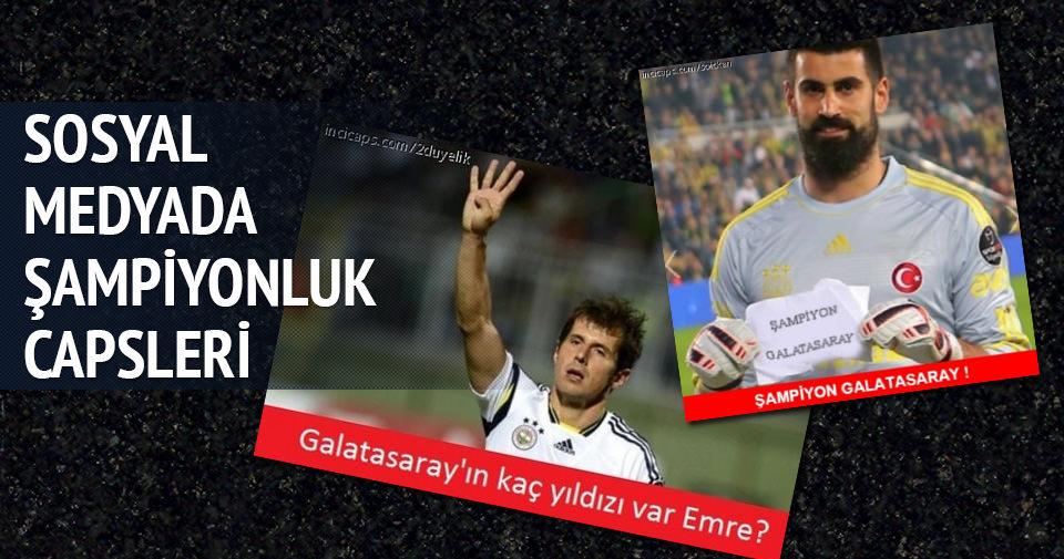 Galatasaray'ın şampiyonluğu sonrası caps çılgınlığı