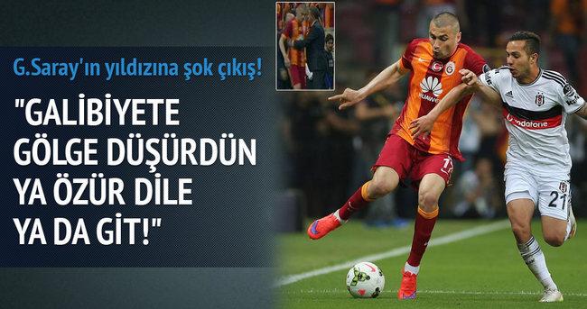 Galatasaray'ın yıldızına şok çıkış!