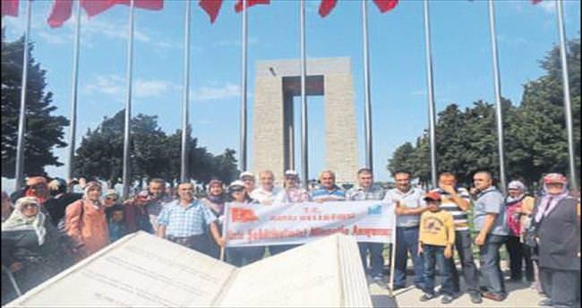 Aksulular 3. kez Çanakkale'yi gezdi
