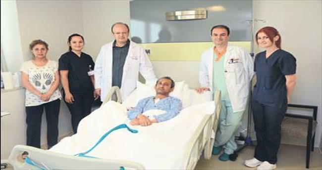Nakilli hastaya by-pass ameliyatı