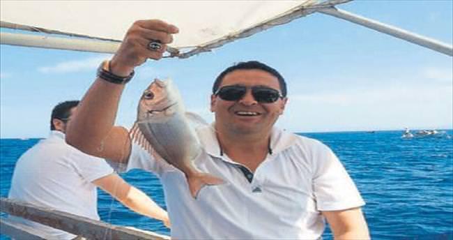 Mordoğan'da balıklar oltada