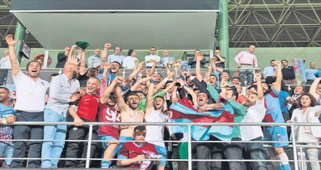 1. Lig'e son bilet 1461 Trabzon'un