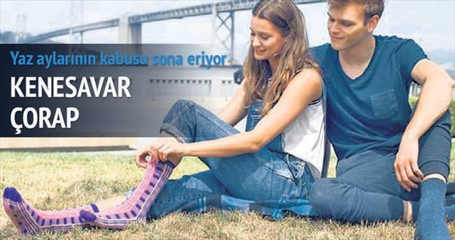 Türk icadı kenesavar çorap