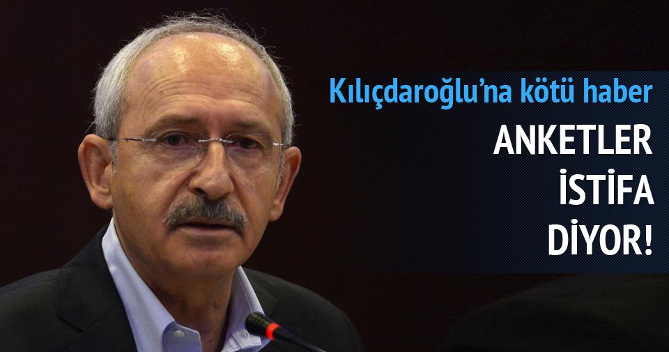 Kılıçdaroğlu'na kötü haber