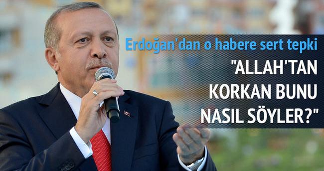Cumhurbaşkanı Erdoğan: Allah'tan korkan bunu nasıl söyler