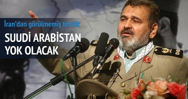 İran: 'Suudi Arabistan yok olacak'