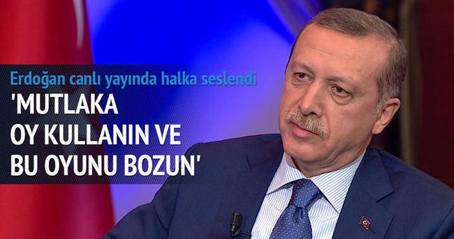 Cumhurbaşkanı Erdoğan: Her an her şey olabilir
