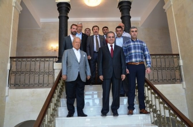 İstanbul Kilis Vakfı'ndan Vali Tapsız'a Ziyaret