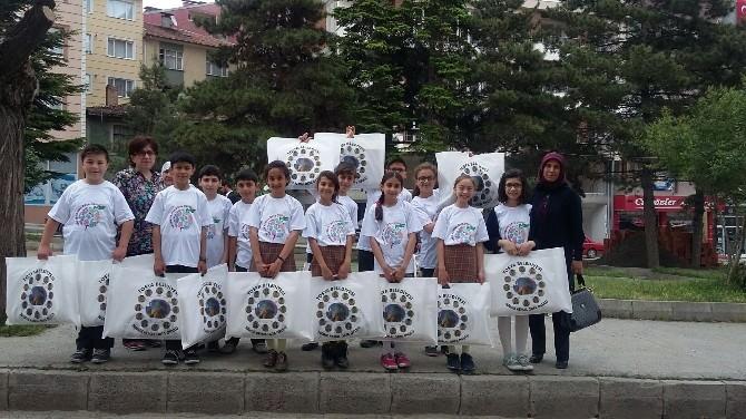 Tosya'da Çevreci Öğrencilerden Örnek Proje