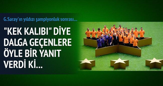 Galatasaray'ın yıldızından bomba tweet!