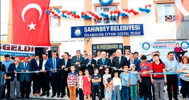 Şahinbey Belediyesi'nden 72'nci tesis