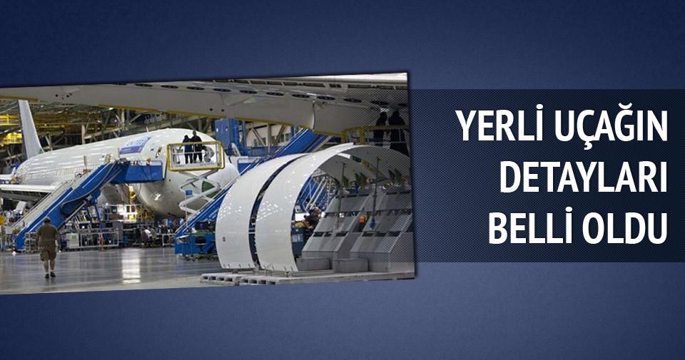 İşte yerli yolcu uçağının teknik özellikleri