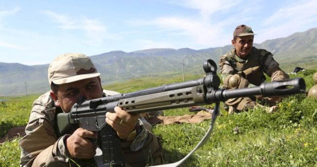 IKBY peşmergeleri İran sınırında