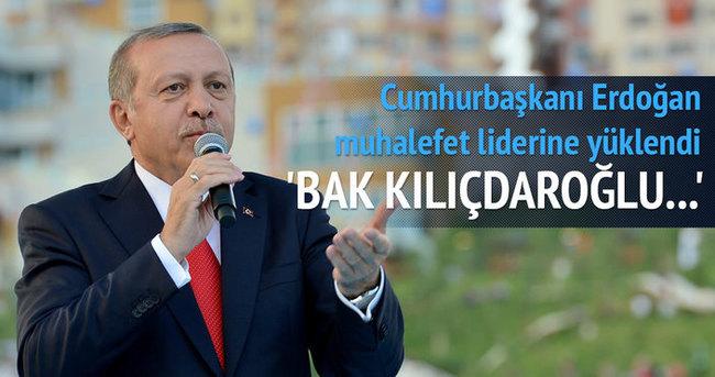 Cumhurbaskanı Erdoğan: Bak Kılıçdaroğlu...