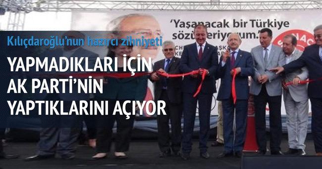 AK Parti yaptı, Kemal Kılıçdaroğlu açtı