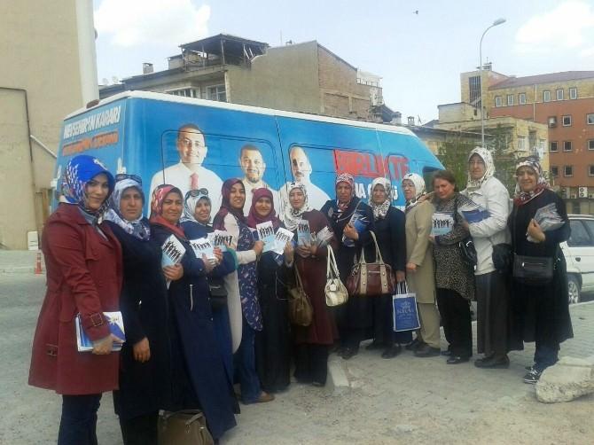 AK Parti Kadın Kolları Başkanı Kutlar;