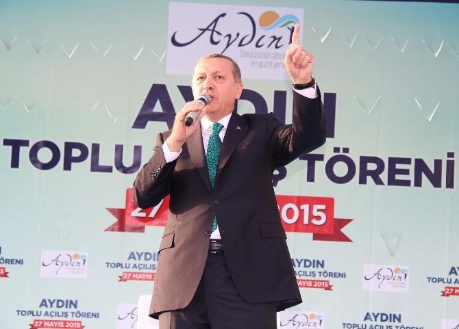 Cumhurbaşkanı Erdoğan, Aydın'a 391 Milyon TL'lik 89 Projenin Açılışını Yaptı