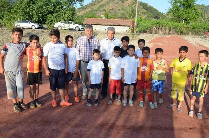 Dalaman Belediyesi'nden Mini Futbol Sahası