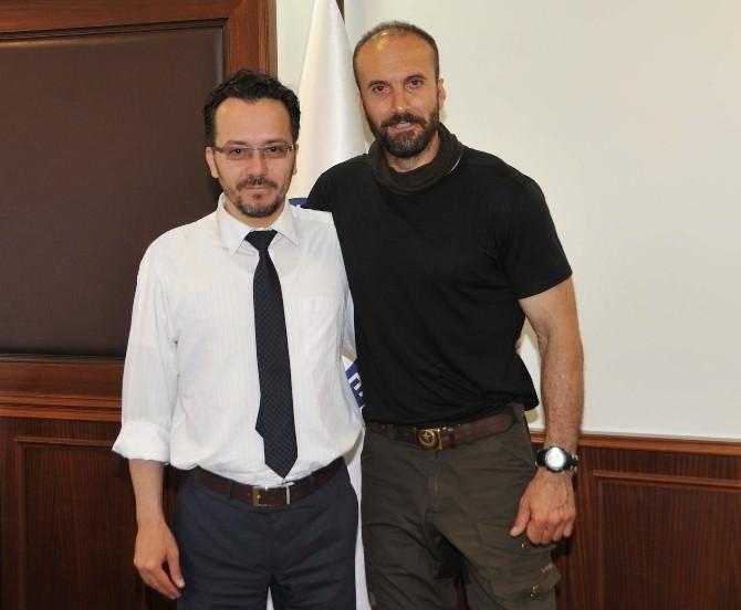 ADÜ Rektörü Bircan, Serdar Kılıç'ı Ağırladı?