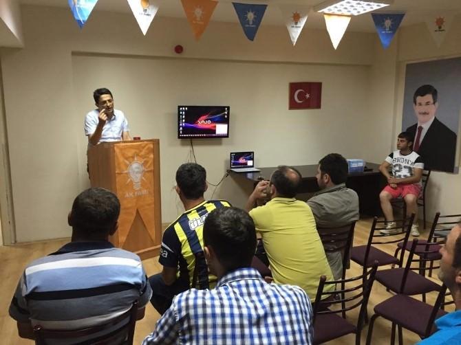 AK Parti'de Sandık Kurulu Eğitimi