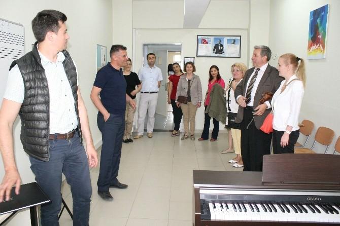 Romanya Ekibi Düzce'de Araştırma Yapıyor