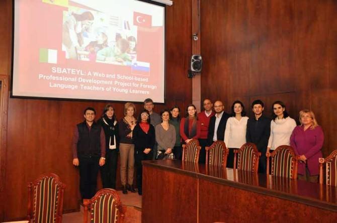 Erasmus+ Ka2 Okul Ortaklığı Projelerinde Kabul Edilen TEK Üniversite Projesi Gazi Üniversitesi'nden