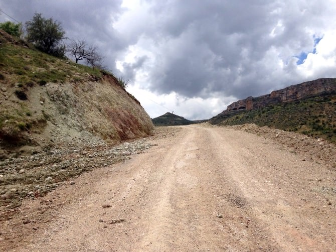 Hekimhan'da 15 Kilometrelik Grup Yolu Yapılıyor