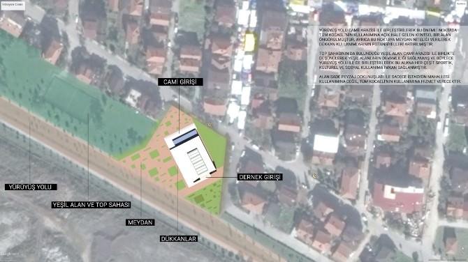 Üzülmez'den İstasyon Mahallesi'ne Külliye Ve Meydan Projesi Müjdesi