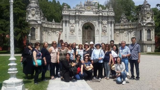 Ahi Kadınları İstanbul Turu Düzenledi
