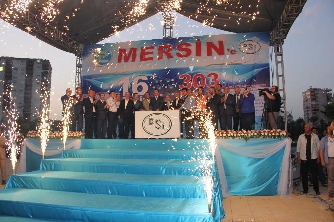 Bakan Çelik Mersin'de 16 Tesisin Temelini Attı