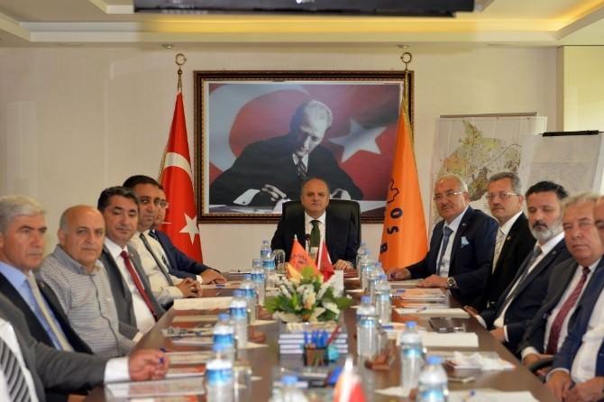 Mersin-tarsus OSB Müteşebbis Heyet Toplantısı Yapıldı