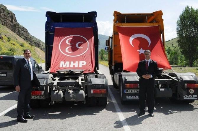 MHP Adayları Aydın Ve Kaya Şenka'ya, Akşar Ve Bardız'da…