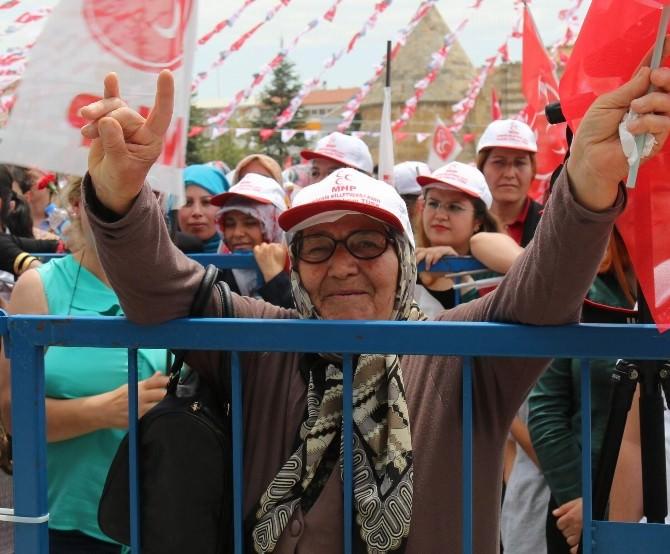 Saçaklar Sitesi Ve Uzun Çarşı Sakinleri MHP'yi Dinledi