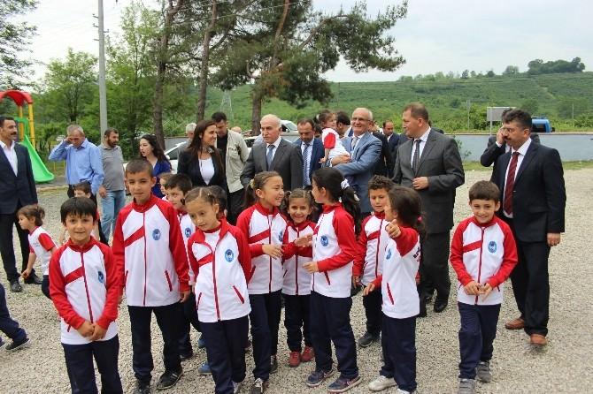 Vali Ve Başkandan Kumköy Ziyareti