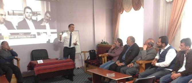 Türetken TYB Erzurum Şubesi'nin Konuğu Oldu
