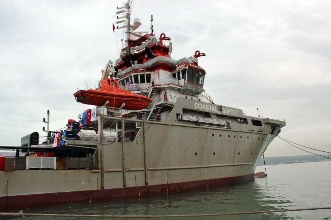 Türkiye'nin İlk Ve TEK Acil Müdahale Gemisi Hizmete Girdi